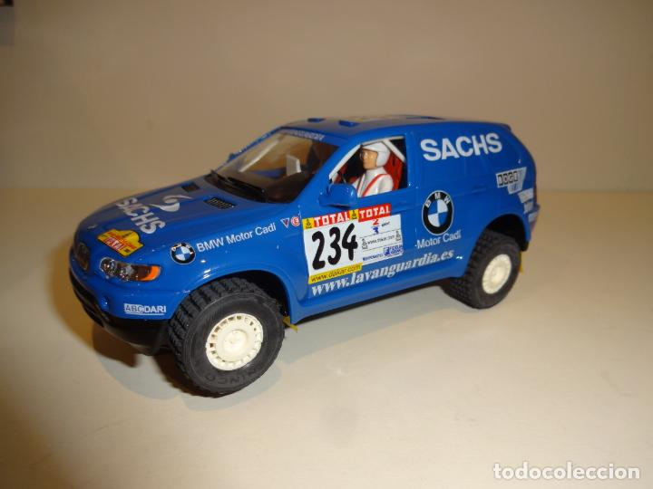 NINCO. BMW X5 AZUL SACHS. (Juguetes - Slot Cars - Ninco)