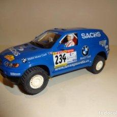 Slot Cars: NINCO. BMW X5 AZUL SACHS.. Lote 194222506
