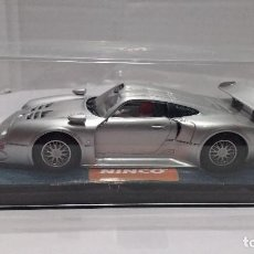 Slot Cars: SLOT PORSCHE 911 GT1 CARROCERIA LIMPIA ESCALA 1:32. Lote 194515822