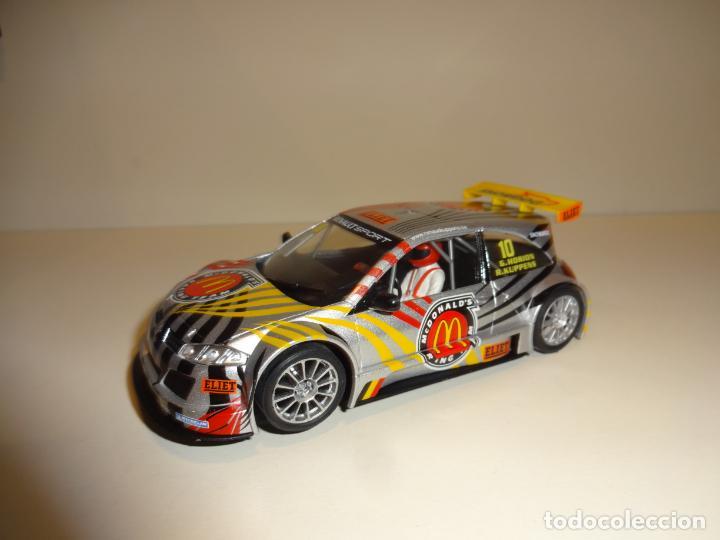 NINCO. RENAULT MEGANE MCDONALDS (Juguetes - Slot Cars - Ninco)