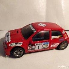 Slot Cars: RENAULT CLIO 16V EL MUNDO DE NINCO. Lote 194742507
