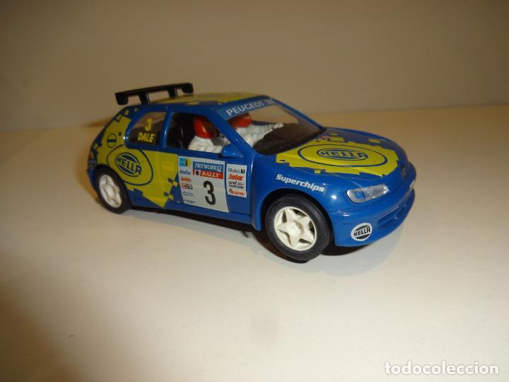 Slot Cars: NINCO. Peugeot 306 azul Hella - Foto 2 - 195122392