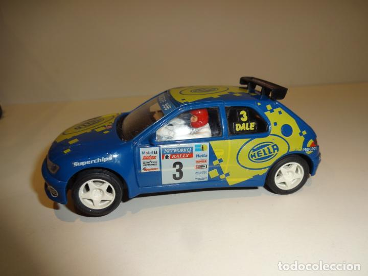 Slot Cars: NINCO. Peugeot 306 azul Hella - Foto 3 - 195122392