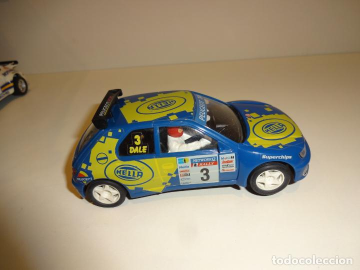 Slot Cars: NINCO. Peugeot 306 azul Hella - Foto 4 - 195122392
