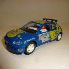 Slot Cars: NINCO. PEUGEOT 306 AZUL HELLA. Lote 195122392