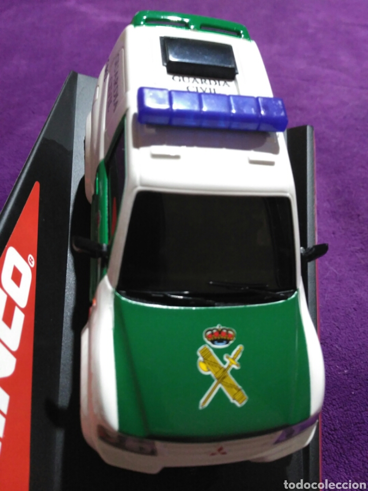 Slot Cars: PAJERO GUARDIA CIVIL DE NINCO RF.50519 CON LUCES Y SIRENA - Foto 2 - 195122602
