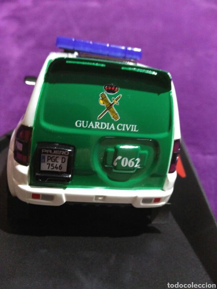Slot Cars: PAJERO GUARDIA CIVIL DE NINCO RF.50519 CON LUCES Y SIRENA - Foto 3 - 195122602