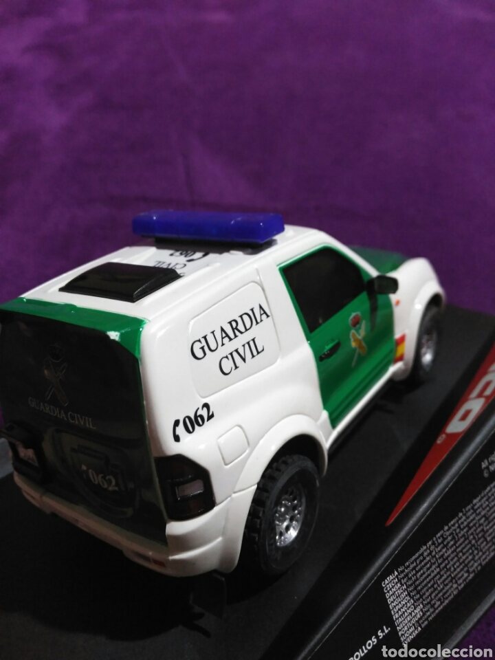 Slot Cars: PAJERO GUARDIA CIVIL DE NINCO RF.50519 CON LUCES Y SIRENA - Foto 4 - 195122602
