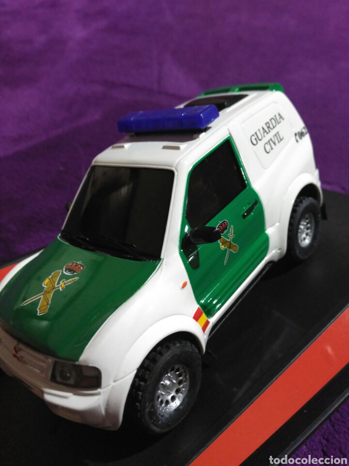 Slot Cars: PAJERO GUARDIA CIVIL DE NINCO RF.50519 CON LUCES Y SIRENA - Foto 7 - 195122602