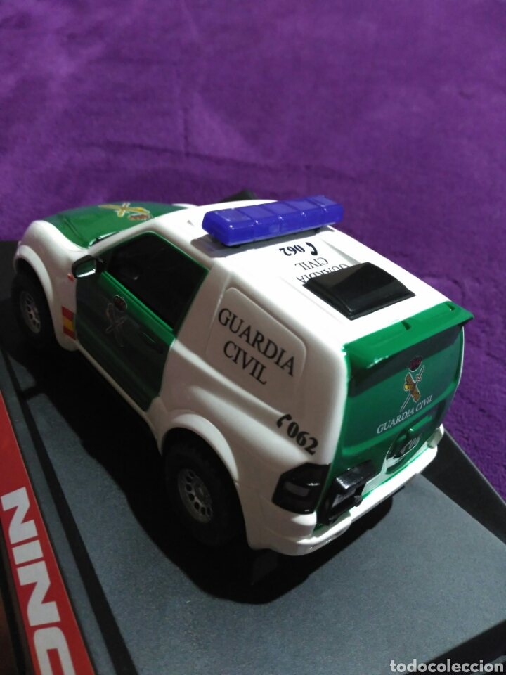 Slot Cars: PAJERO GUARDIA CIVIL DE NINCO RF.50519 CON LUCES Y SIRENA - Foto 8 - 195122602