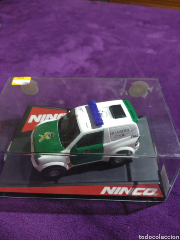 Slot Cars: PAJERO GUARDIA CIVIL DE NINCO RF.50519 CON LUCES Y SIRENA - Foto 9 - 195122602