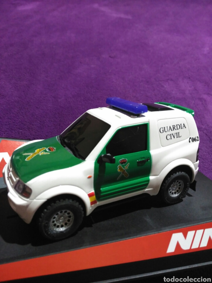 PAJERO GUARDIA CIVIL DE NINCO RF.50519 CON LUCES Y SIRENA (Juguetes - Slot Cars - Ninco)