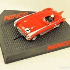 Slot Cars: SLOT NINCO CORVETTE SPEED RECORD. Lote 197485706