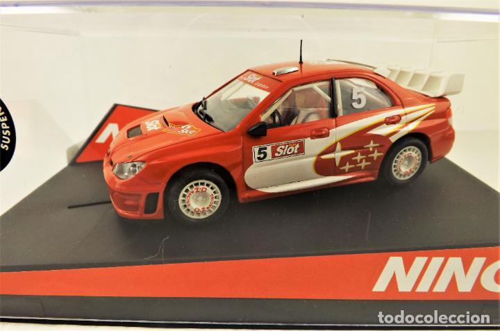 SLOT NINCO SUBARU WRC EDICIÓN MAS SLOT (Juguetes - Slot Cars - Ninco)