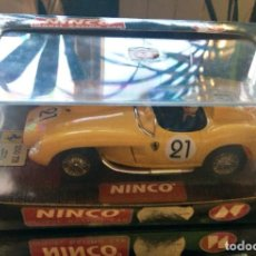Slot Cars: COCHE NINCO FERRARI 250 TESTA ROSSA AMARILLO. Lote 197684893