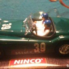 Slot Cars: COCHE SLOT MARCA NINCO MODELO JAGUAR 120 VERDE. Lote 197691673