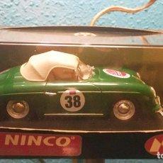 Slot Cars: COCHE SLOT NINCO CLASICOS PORCHE 356 VERDE. Lote 197691772