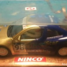 Slot Cars: COCHE DE SLOT NINCO RALLY COSTA BRAVA MEGANE . Lote 197691796