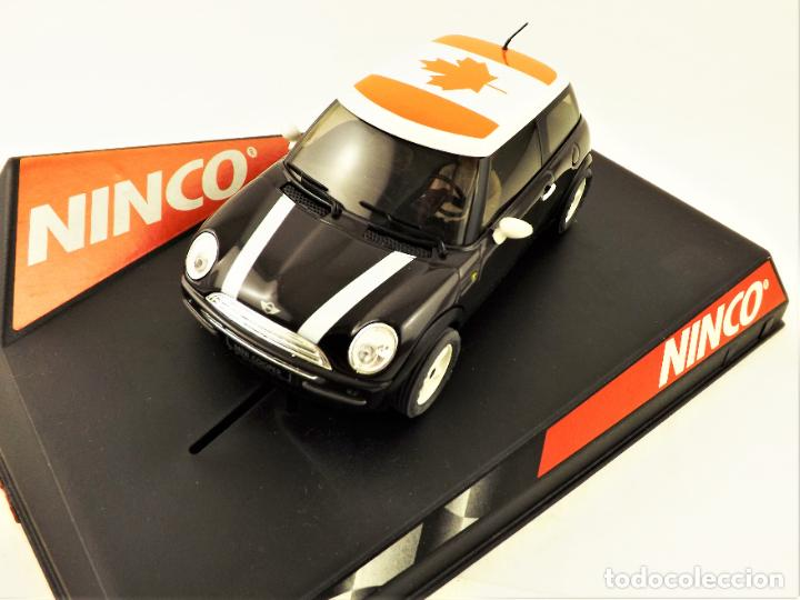 SLOT NINCO FLAG SERIES MINI COOPER CANADÁ (Juguetes - Slot Cars - Ninco)