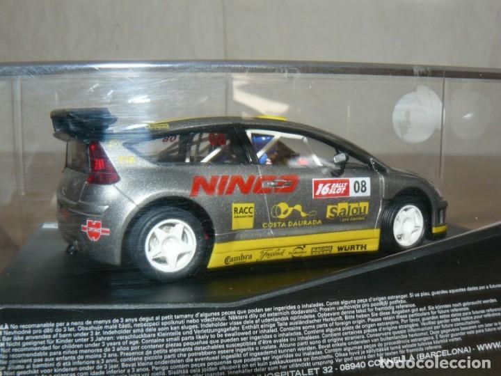 Slot Cars: Scalextric NINCO 16 Rally Slot CITROEN C4 WRC 44 Cat. - C.Daurada 2008 coche car - Foto 3 - 198331001