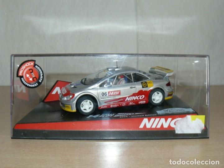 SCALEXTRIC NINCO 14 RALLY SLOT PEUGEOT 307 42 CATALUNYA- C.DAURADA 2006 MOVISTAR COCHE CAR (Juguetes - Slot Cars - Ninco)