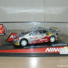 Slot Cars: SCALEXTRIC NINCO 14 RALLY SLOT PEUGEOT 307 42 CATALUNYA- C.DAURADA 2006 MOVISTAR COCHE CAR. Lote 198331973