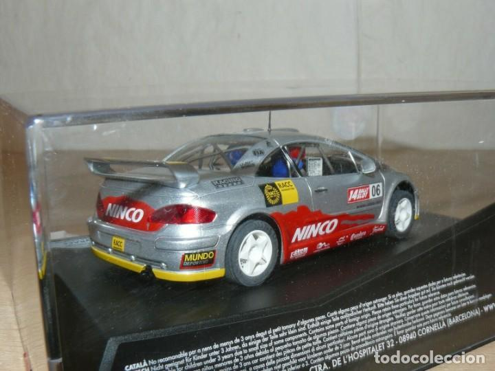 Slot Cars: Scalextric NINCO 14 Rally Slot PEUGEOT 307 42 Catalunya- C.Daurada 2006 Movistar coche car - Foto 3 - 198331973