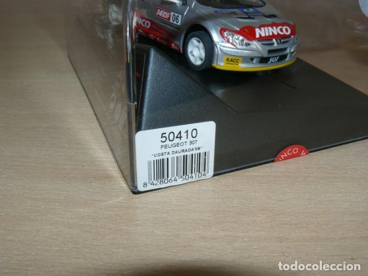 Slot Cars: Scalextric NINCO 14 Rally Slot PEUGEOT 307 42 Catalunya- C.Daurada 2006 Movistar coche car - Foto 4 - 198331973