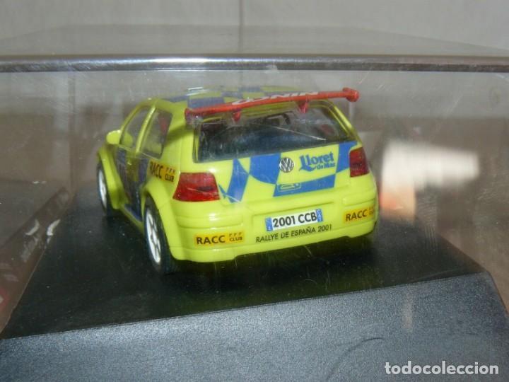 Slot Cars: SCALEXTRIC NINCO IX Rally Slot VW VOLKSWAGEN GOLF Movistar 37 Rally RACC Catalunya Costa Brava 01 - Foto 3 - 198333087