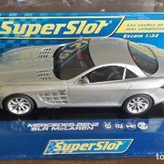 Slot Cars: COCHE SUPER SLOT MERCEDES BENZ. Lote 198355832