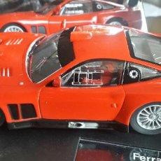 Slot Cars: COCHE SCALEXTRIC FERRARI 575 GTC. Lote 198355911