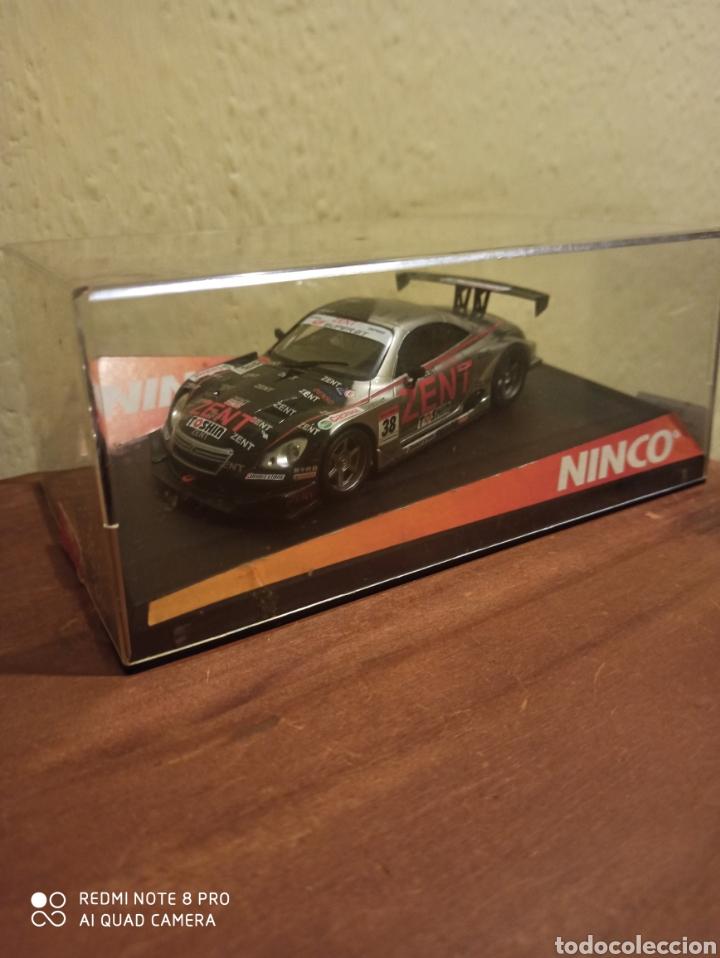 Slot Cars: COCHE SLOT NINCO LEXUS SC430 ZENT TEAM CERUMO 2008 nuevo - Foto 2 - 198952811