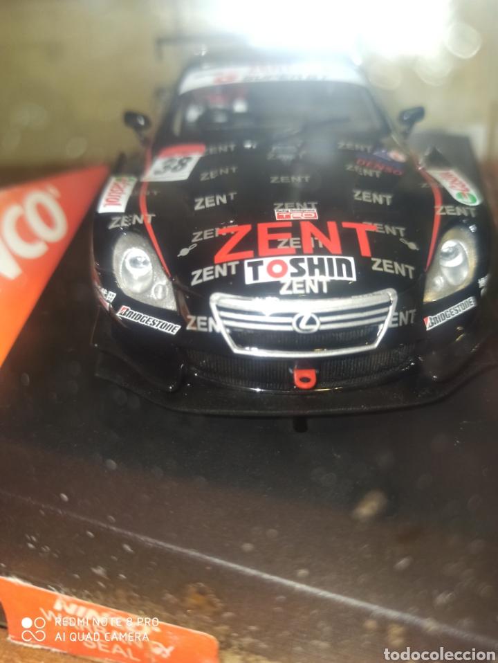 Slot Cars: COCHE SLOT NINCO LEXUS SC430 ZENT TEAM CERUMO 2008 nuevo - Foto 6 - 198952811