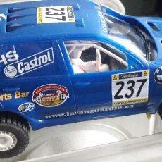 Slot Cars: COCHE NINCO SALVAT BMW X5 MOTOR CADI ARCARONS MAS PARIS DAKAR 2003 UNIDAD 09013. Lote 202947437