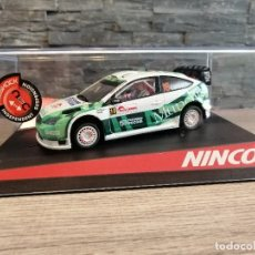 Slot Cars: COCHE SLOT NINCO FORD FOCUS MUNCHI´S RALLY JAPAN 2010 COMPANC, NO SCALEXTRIC. Lote 204316556