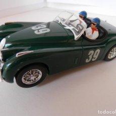 Slot Cars: SCALEXTRIC - JAGUAR XK 120 - NINCO REF. 50160 - PERFECTO ESTADO - VER FOTOS Y DESCRIPCION. Lote 204681460