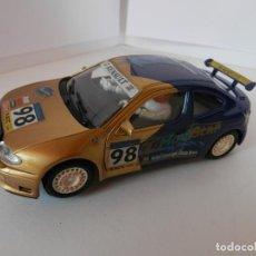 Slot Cars: SCALEXTRIC - RENAULT MEGANE - (NINCO) - PERFECTO ESTADO - VER FOTOS Y DESCRIPCION. Lote 204682465