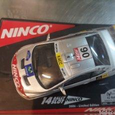 Slot Cars: COCHE SCALEXTRIC DE NINCO PEUGEOT 307 WRC RALLY COSTA DAURADA 2006. REF. 50410. Lote 204842326