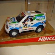 Slot Cars: NINCO. MITSUBISHI PAJERO ARGOS. Lote 205066210