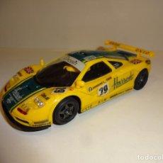 Slot Cars: NINCO. MCLAREN F1 GTR HARRODS. Lote 205849301