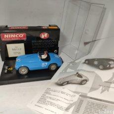Slot Cars: NINCO FERRARI 166 MM REF. 50117 AZUL. Lote 205881691