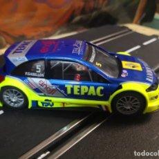 Slot Cars: COCHE SCALEXTRIC DE NINCO RENAULT MEGANE TEPAC REF. 50438 Nº5. Lote 206546043