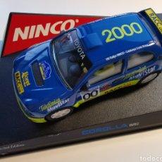 Slot Cars: COCHE SCALEXTRIC DE NINCO TOYOTA COROL·LA WRC. RALLY CATALUNYA COSTA BRAVA 2002. REF. 50202. NUEVO. Lote 206823566