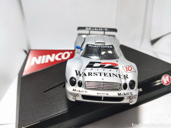 Slot Cars: NINCO MERCEDES CLK WARSTEINER N°10 REF. 50167 - Foto 2 - 206936560