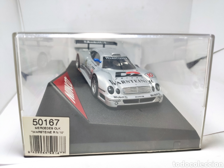 Slot Cars: NINCO MERCEDES CLK WARSTEINER N°10 REF. 50167 - Foto 6 - 206936560
