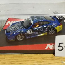 Slot Cars: PORSCHE 997 GT3 #14 MRS HUBLOT MB. Lote 207604015