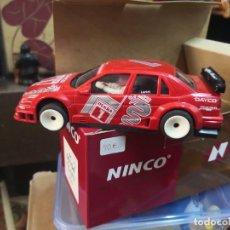 "Slot Cars: ALFA ROMEO 155 V6 TI ""N2"" REF. 50104, ROJO NINCO FABRICADO POR NINCO. Lote 207822836"