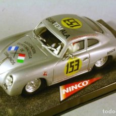Slot Cars: NINCO #50205. PORSCHE 356A COUPE. GUATEMALA IV CARRERA PANAMERICANA 1953.. Lote 208807316
