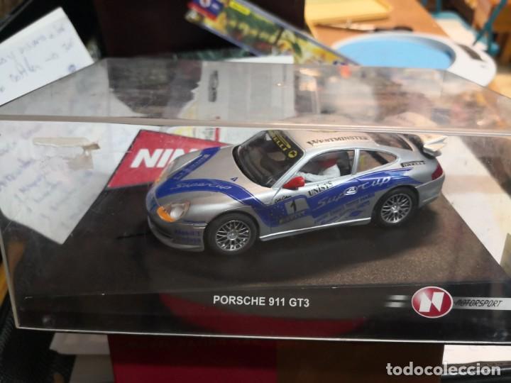PORSCHE 911 GT3 NINCO 50187 (Juguetes - Slot Cars - Ninco)