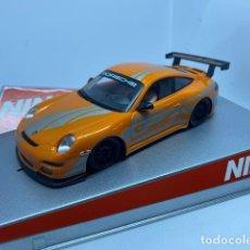 Slot Cars: PORSCHE 997 ORANGE DIGITAL DE NINCO. Lote 209950107